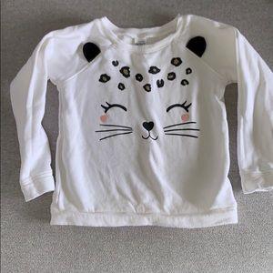 Carter's litter sweat shirt. Size 4T